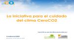 2009 24abril CeroCO2 La iniciativa para el cuidado del clima CeroCO2y-ceroco2