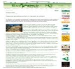 2011 1agosto EcoAgencia Pequeños agricultores entram no mercado de carbono