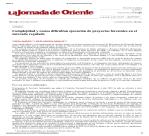 2011 30marzo La Jornada de Oriente Complejidad y costos dificultan ejecución de proyectos forestales en el mercado regulado